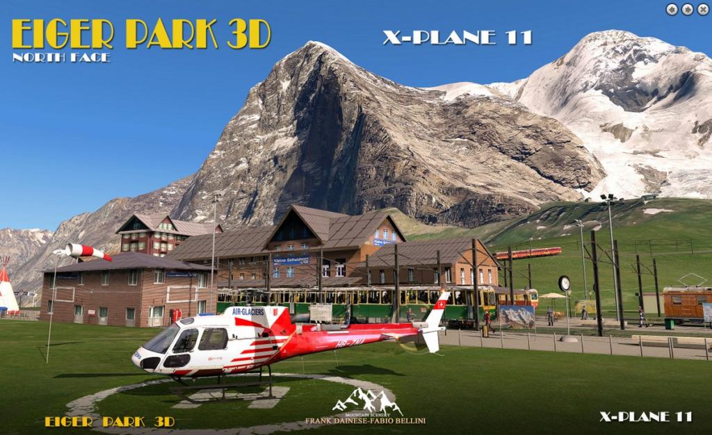 Eiger Park 3D Released for X-Plane 11 - FSNews