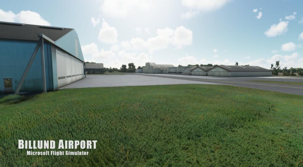 Vidan Design previews Billund Airport for MSFS
