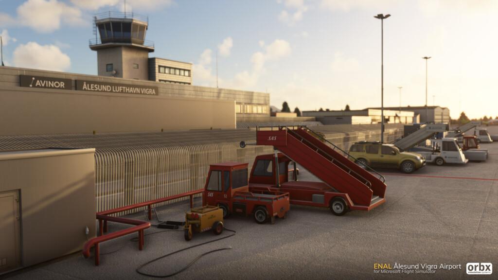 Orbx announces Ålesund Vigra airporta