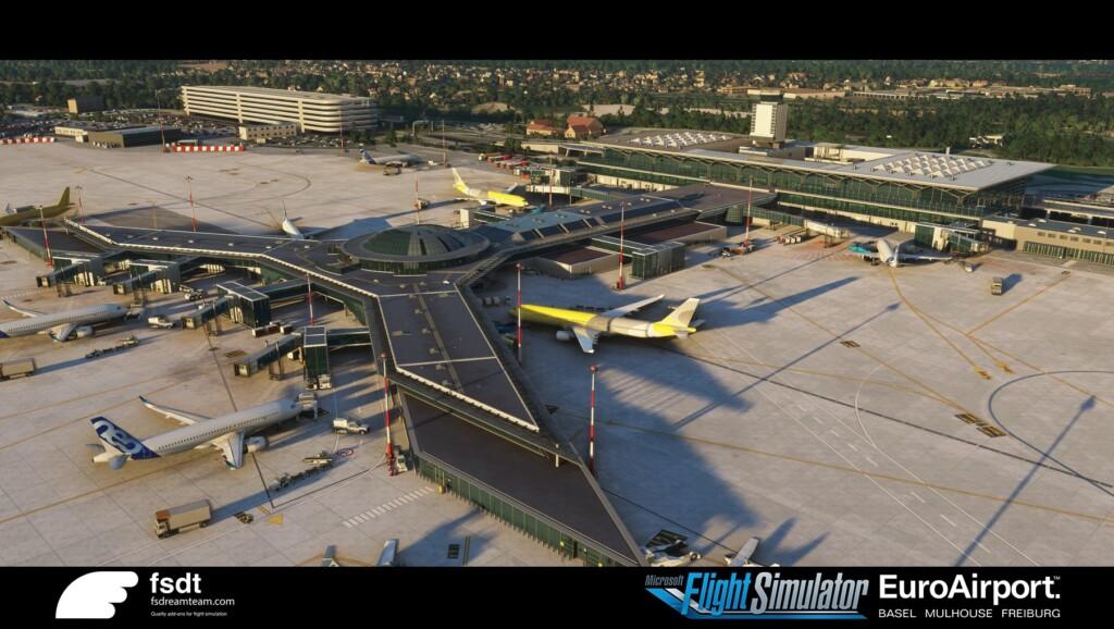 FSDreamTeam Basel Airport