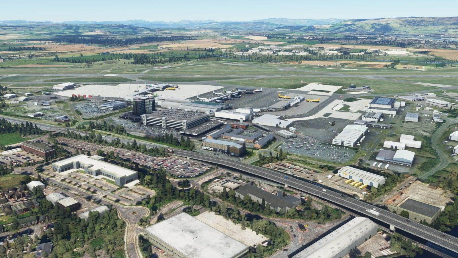 UK2000 Previews Glasgow 2020HD for MSFS - FSNews